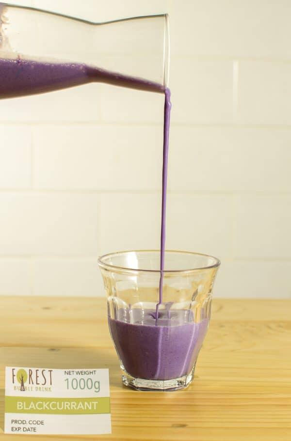 bubuk minuman blackcurrant