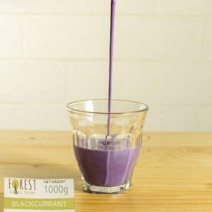 bubuk minuman blackcurrant mix gula