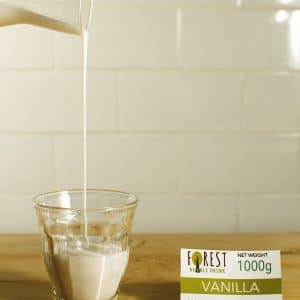 bubuk minuman vanilla