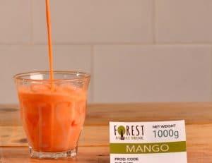 bubuk minuman mango mix gula